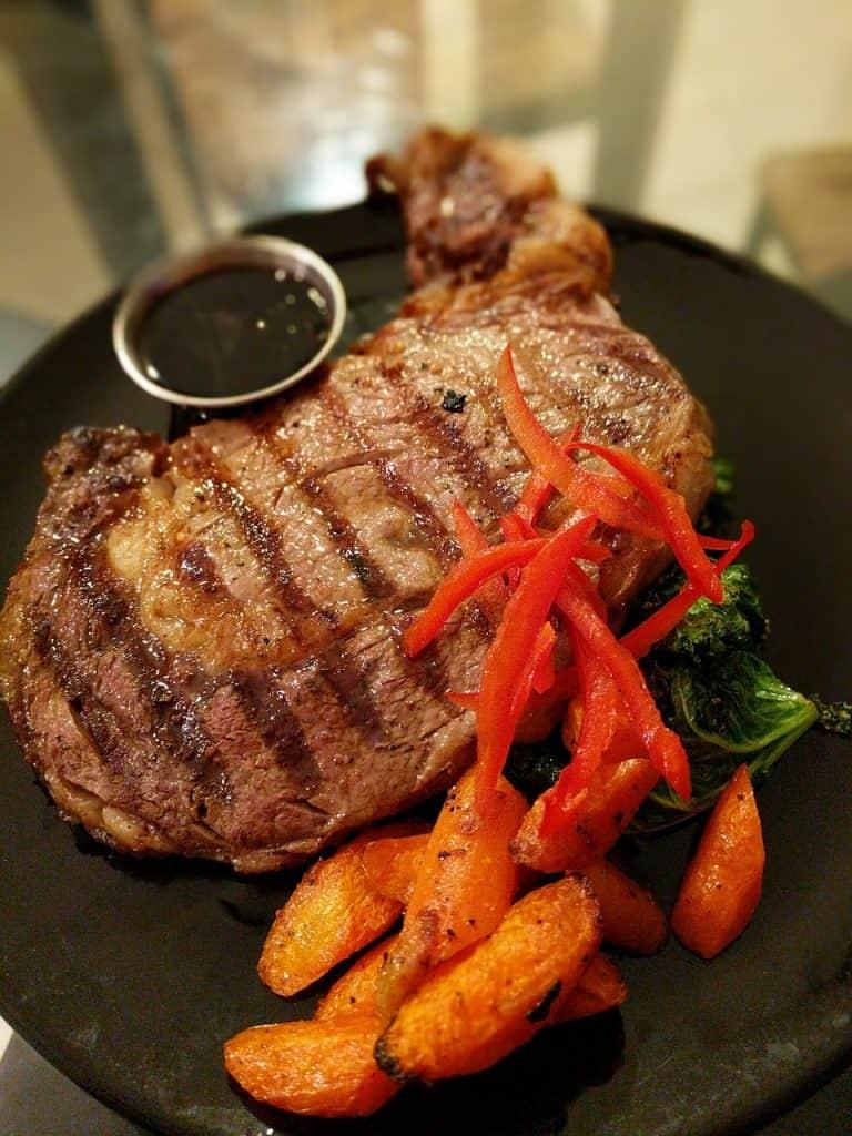 father's day quarantine steak dinner