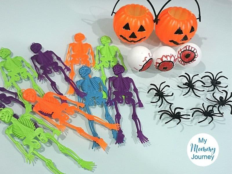 Halloween Oobleck toy materials