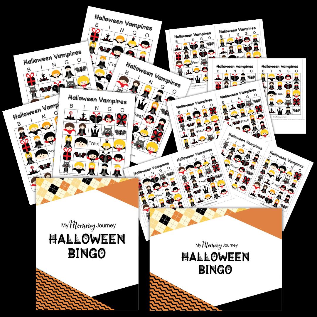 halloween bingo cards free