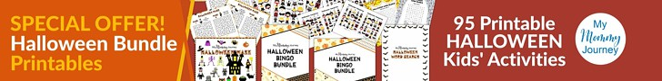 Halloween bundle special promo ad