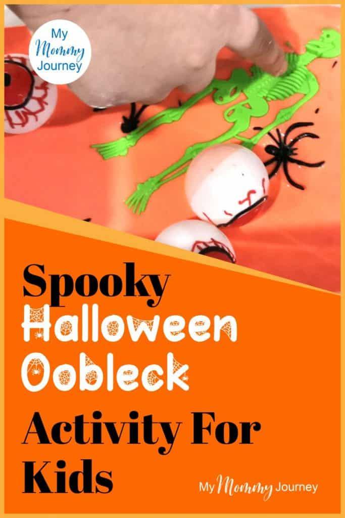 Halloween Oobleck Pinterest Pin