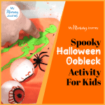 Spooky Halloween Oobleck Activity For Kids