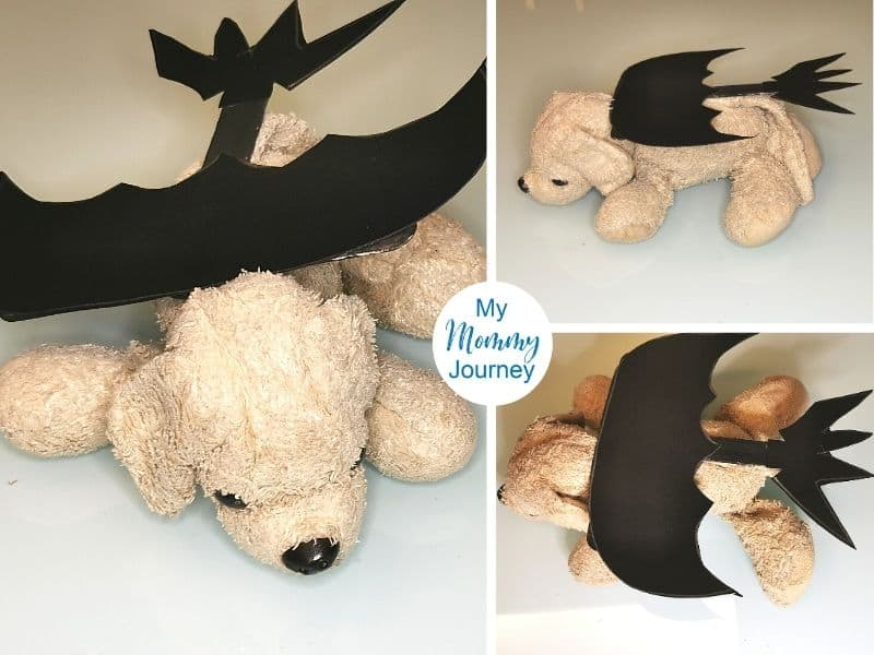 Halloween Costumes for Stuffed Animals puppy dragon