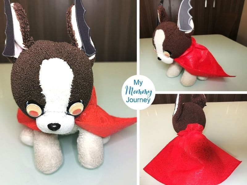 Halloween Costumes for Stuffed Animals puppy vampire