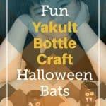 Halloween Bats Yakult Pinterest pin