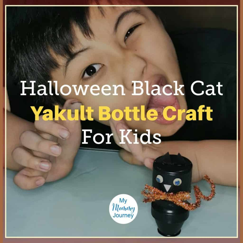 Halloween Cat Yakult feature image