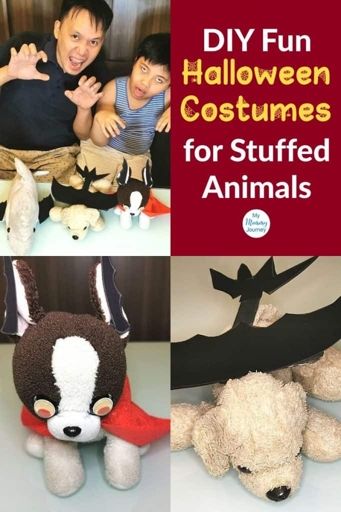 Halloween Costumes Stuffed Animals Pinterest pin