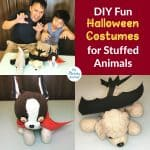 DIY Fun Halloween Costumes for Stuffed Animals