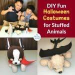 DIY Fun Halloween Costumes for Stuffed Animals