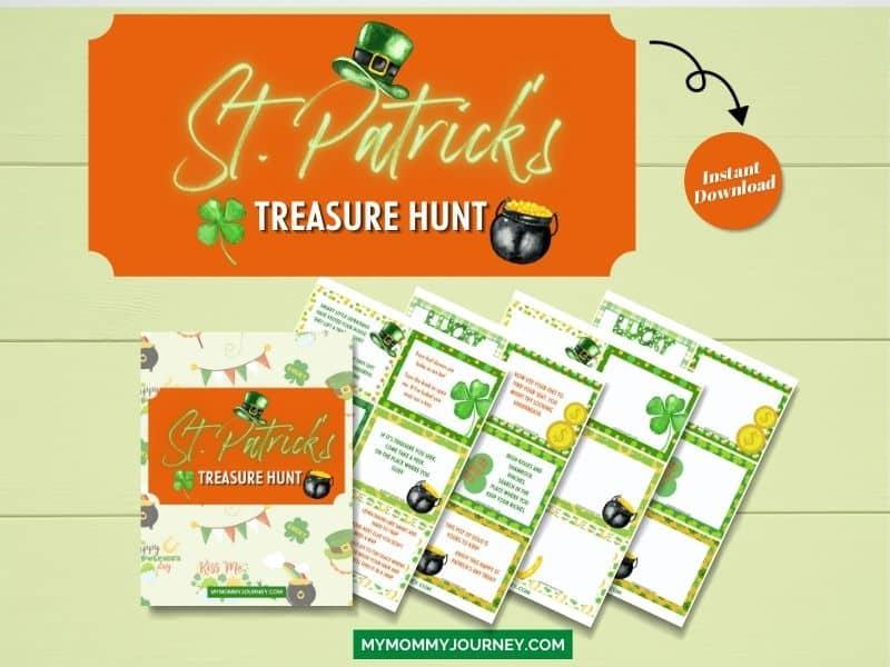 St. Patrick's Day Treasure Hunt printable