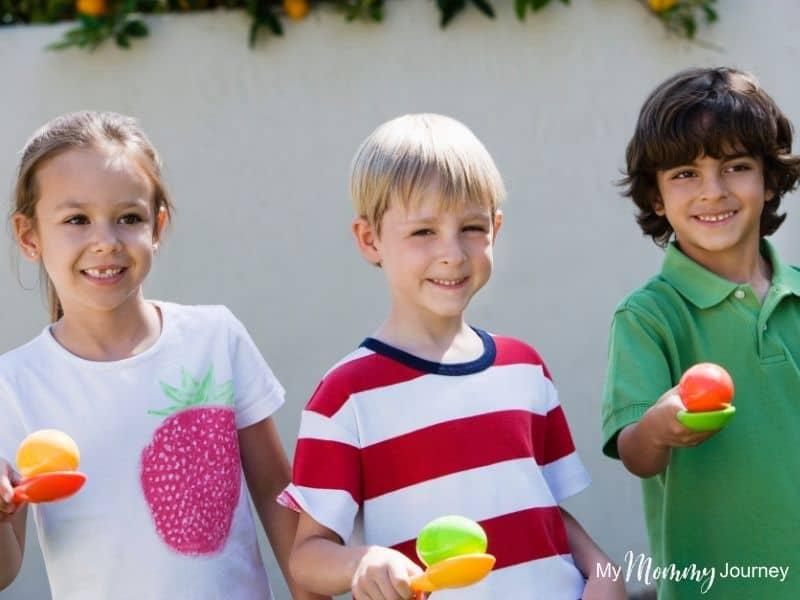 Unique Easter Egg Hunt at Home for Kids Easter challenge activity