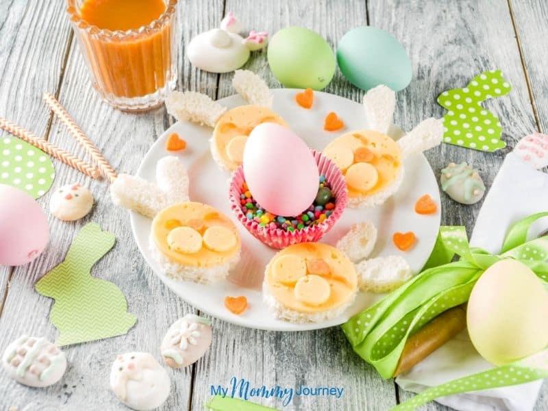 Unique Easter Egg Hunt at Home for Kids Easter lunch finger food for kids