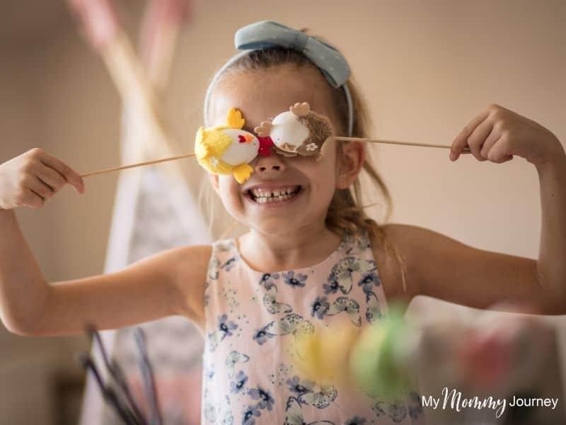 Unique Easter Egg Hunt at Home for Kids non-candy egg filler toy for kids