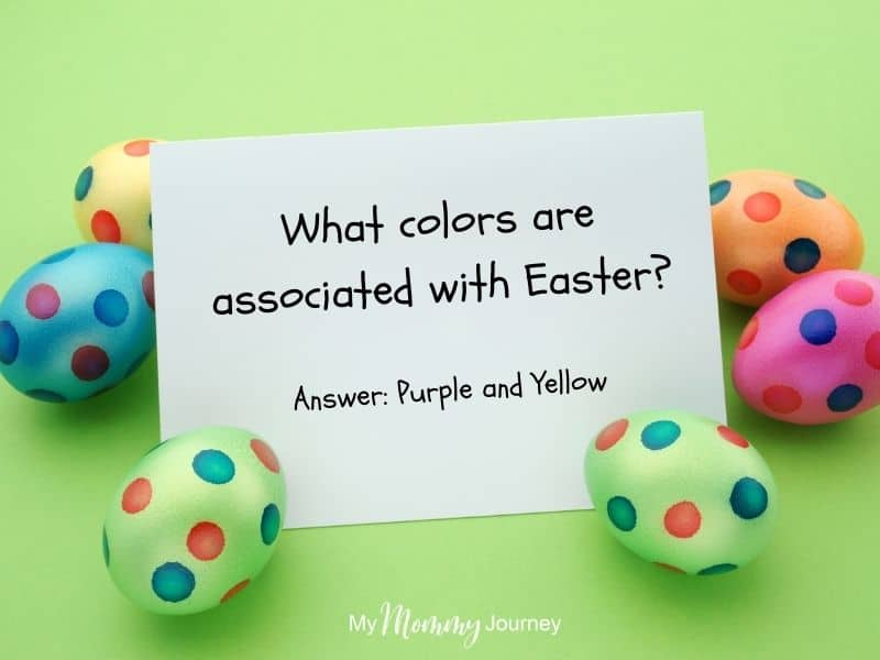 Unique Easter Egg Hunt at Home for Kids trivia questions