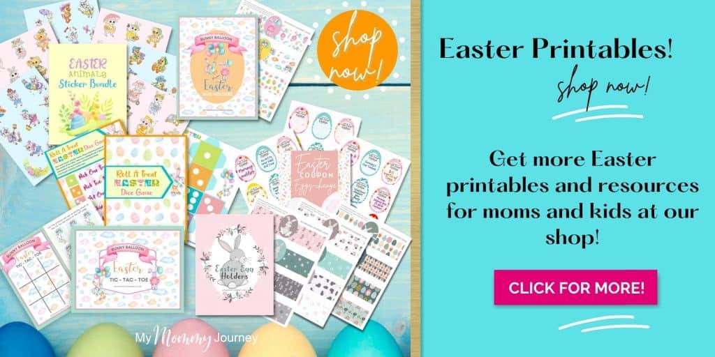 Shop Easter printables ad